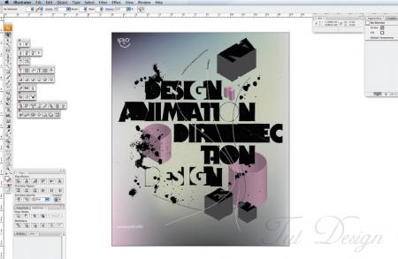 Как создать типографический постер