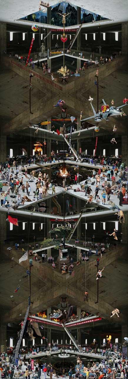gao brothers, китайское современное искусство, коммунизм в современном искусстве, дом, который никогда не достроят