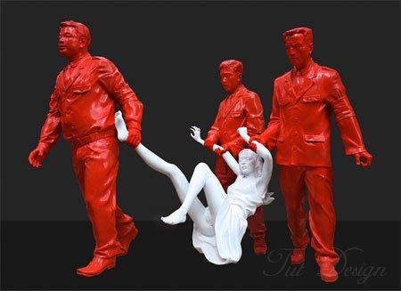 gao brothers, китайское современное искусство, коммунизм в современном искусстве
