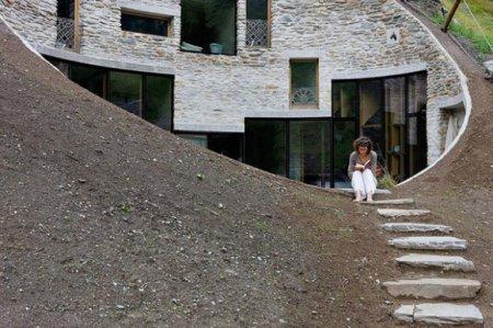 Дом в швейцарской «дыре»