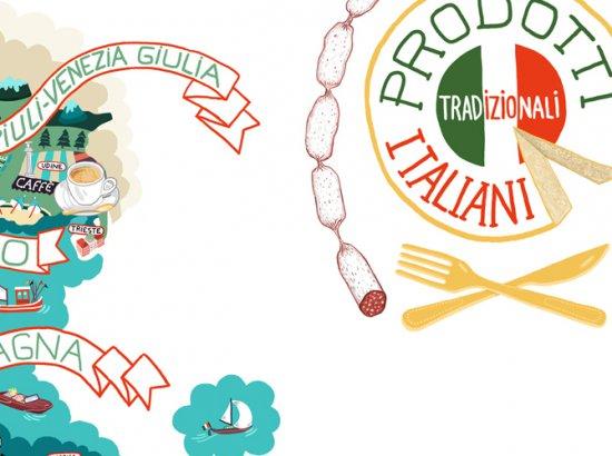 Кулинарная карта Италии