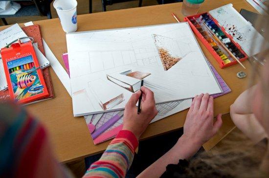 Рисуем предметы интерьера