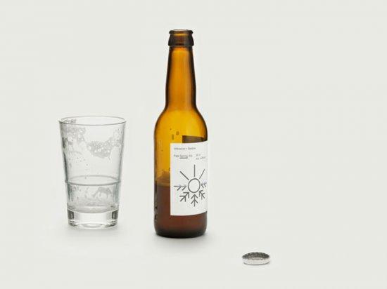 Градусник на этикетке пива