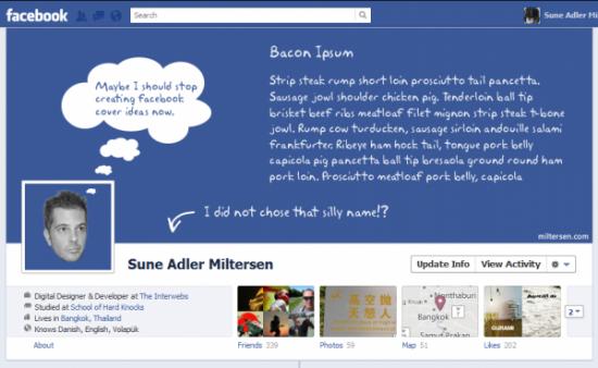 20 креативных обложек страниц facebook