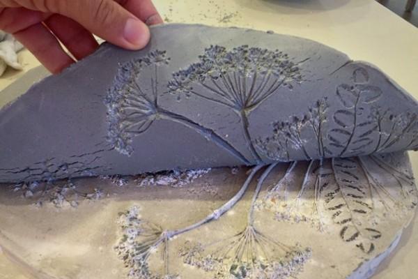 Как сделать отпечатки в гипсе
