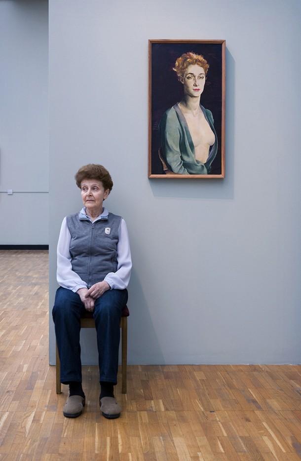 Altman's portrait of I P Degas, State Tretyakov Gallery