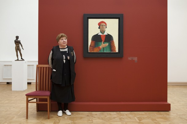 Malevich's Self Portrait, Russian State Museum