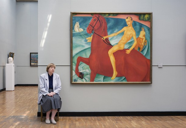 Petrov Vodkin's Bathing of the Red Horse