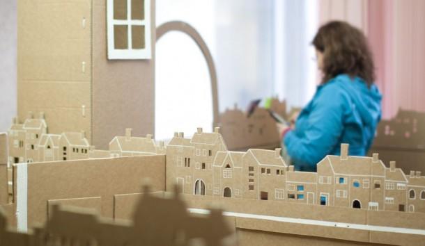 miniature-cardboard-town_16706137498_o